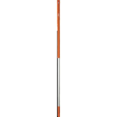 Ручка эргономичная алюминиевая, Ø31 мм, 1310 мм, оранжевый цвет