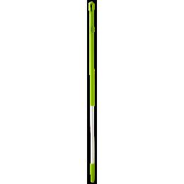 Ручка эргономичная алюминиевая, Ø31 мм, 1310 мм, лаймовый цвет