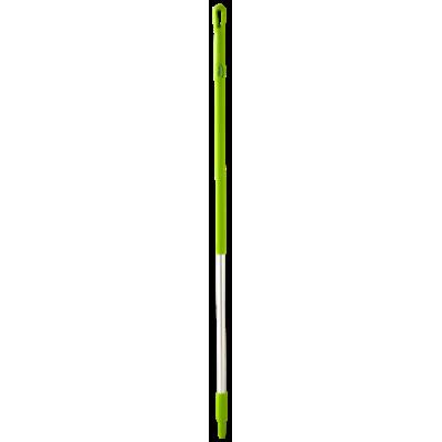 Ручка эргономичная алюминиевая, Ø31 мм, 1510 мм, лаймовый цвет