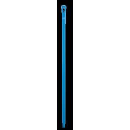 Ультра гигиеническая ручка, Ø34 мм, 1700 мм, синий цвет