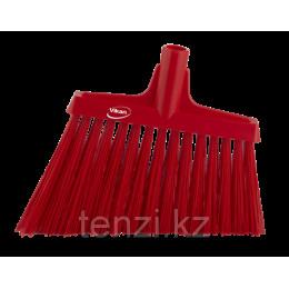 Щетка для подметания с ворсом под углом, 290 мм, Очень жесткий, красный цвет