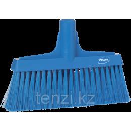 Щетка для подметания мягкая, 260 мм, Мягкий/жесткий ворс, синий цвет
