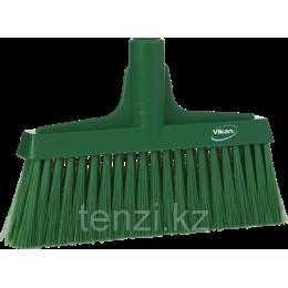 Щетка для подметания мягкая, 260 мм, Мягкий/жесткий ворс, зеленый цвет