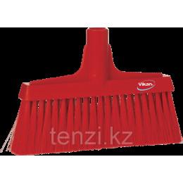 Щетка для подметания мягкая, 260 мм, Мягкий/жесткий ворс, красный цвет