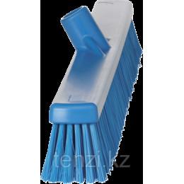 Щетка  для подметания с комбинированным ворсом, 610 мм, Мягкий/жесткий ворс, синий цвет