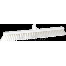 Щетка для подметания пола мягкая, 610 мм, Мягкий ворс, белый цвет