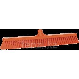 Щетка для подметания пола мягкая, 610 мм, Мягкий ворс, оранжевый цвет