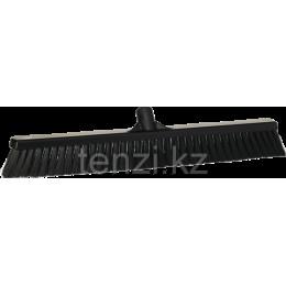 Щетка для подметания пола мягкая, 610 мм, Мягкий ворс, черный цвет
