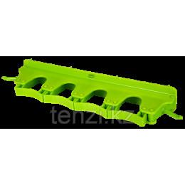 Настенное крепление для 4-6 предметов, 395 мм, лаймовый цвет