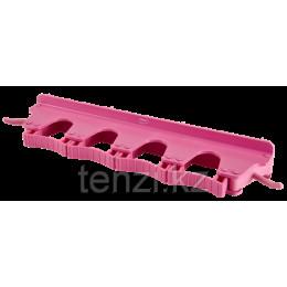Настенное крепление для 4-6 предметов, 395 мм, розовый цвет