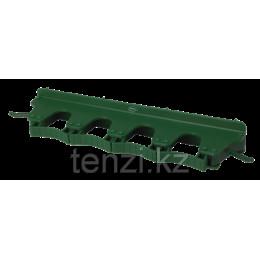 Настенное крепление для 4-6 предметов, 395 мм, зеленый цвет