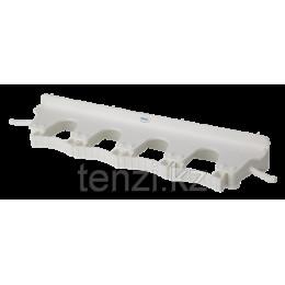 Настенное крепление для 4-6 предметов, 395 мм, белый цвет