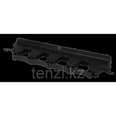 Настенное крепление для 4-6 предметов, 395 мм, черный цвет