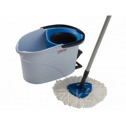 Набор для уборки УльтраСпин Мини, голубой (с телескопической ручкой)