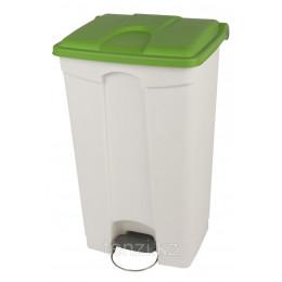 Probbax Контейнеры двухцветные 90л (белый и зеленый)
