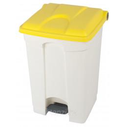 Probbax Контейнеры двухцветные 45л (белый и желтый)
