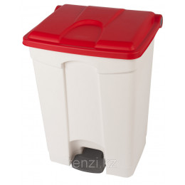 Probbax Контейнеры двухцветные 70л (белый и красный)