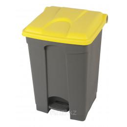 Probbax Контейнеры двухцветные 90л (серый и желтый)