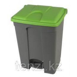 Probbax Контейнеры двухцветные 70л (серый и зеленый)