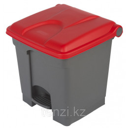 Probbax Контейнеры двухцветные 30л (серый и красный)