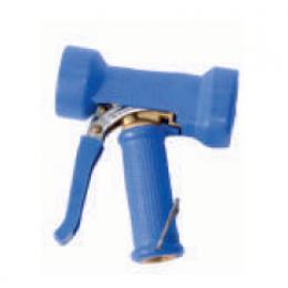 Латунный пистолет в резиновой защите