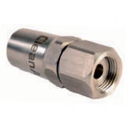 Вращающийся наконечник из нержавеющей стали, внутренняя резьба ½ для шлангов низкого давления