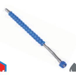 Угловая насадка из нержавеющей стали для ополаскивания 500мм, 25/30, 15° с защитой из нержавеющей стали