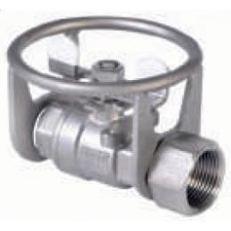Кран из нержавеющей стали ½ с защитой из нержавеющей стали
