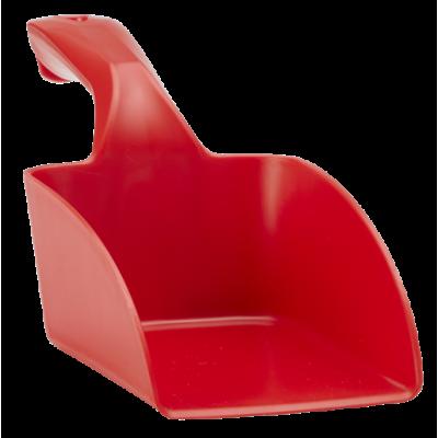 Совок ручной средний, 1 л, красный цвет