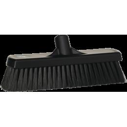 Щетка для подметания, 300 мм, Мягкий/ расщепленный ворс, черный цвет