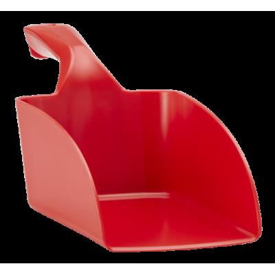 Совок ручной малый, 0,5 л, красный цвет
