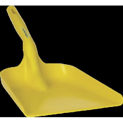 Совок ручной, 327 x 271 x 50 мм., 550 мм, желтый цвет
