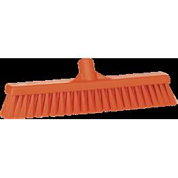 Щетка для подметания пола мягкая, 410 мм, Мягкий ворс, оранжевый цвет