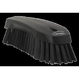 Щетка ручная L, 200 мм, Жесткий ворс, черный цвет