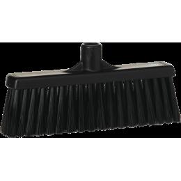 Щетка для подметания с прямой соединительной частью, 310 мм, средний ворс, черный цвет