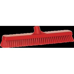 Щетка для мытья полов и стен, 470 мм, Жесткий ворс, красный цвет