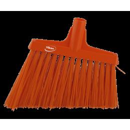 Щетка для подметания с ворсом под углом, 290 мм, Очень жесткий, оранжевый цвет