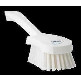 Щетка для мытья с короткой ручкой, 270 мм, средний ворс, белый цвет