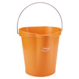 Ведро, 6 л, оранжевый цвет