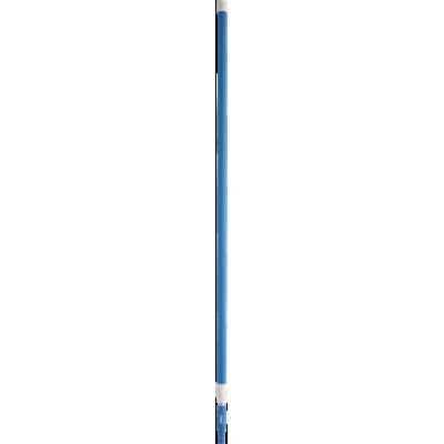 Алюминиевая телескопическая ручка, 1575 - 2780 мм, Ø32 мм, синий цвет