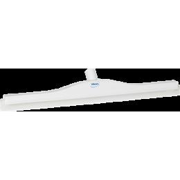 Гигиеничный сгон с подвижным креплением и сменной кассетой, 700 мм, белый цвет