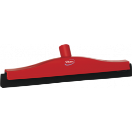Классический сгон для пола со сменной кассетой, 400 мм, красный цвет