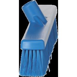 Щетка для подметания, 410 мм, Мягкий/ расщепленный ворс, синий цвет