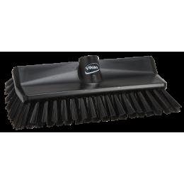 Щетка с изогнутой под углом колодкой, 265 мм, средний ворс, черный цвет