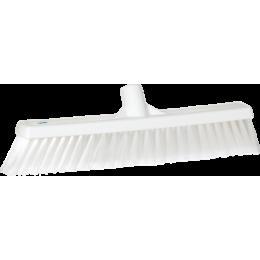 Щетка для подметания, 410 мм, Мягкий/ расщепленный ворс, белый цвет