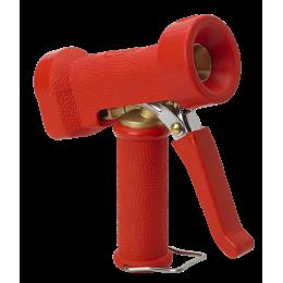 Пистолет для подачи воды, повышенной эксплуатационной надежности, красный цвет
