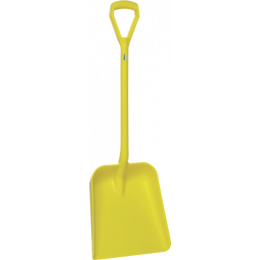 Лопата, 379 x 345 x 90 мм., 1035 мм, желтый цвет