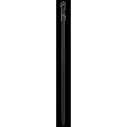 Ультра гигиеническая ручка, Ø34 мм, 1300 мм, черный цвет