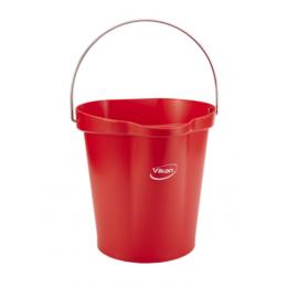 Ведро, 6 л, красный цвет