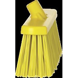 Щетка для подметания сверхпрочная, 330 мм, Очень жесткий, желтый цвет